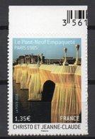 - FRANCE Adhésif N° 338 (4369) Neuf - 1,35 € Le Pont-Neuf, Paris 2009 - Cote 27 EUR - - Adhésifs (autocollants)
