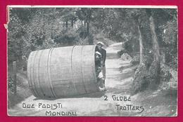 CPA Deux Globe Trotters - Zanardi Atilius Et Vianello Eugène - Sportifs