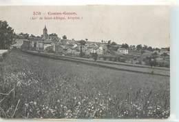 CPA 12 Aveyron Costes Gozon Arrt De Saint Affrique Vue Générale - France