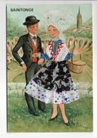 - CPM COSTUMES - SAINTONGE (superbe Costume Tissé) - Editions ARTAUD 231 - - Trachten