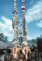 1 AK Papua-Neuguinea * Masked Dancers At Birap Village In Der Provinz Madang * - Papouasie-Nouvelle-Guinée