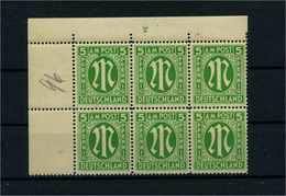 BIZONE 1945 Nr 12 By Postfrisch (106065) - American/British Zone