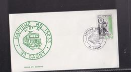 Enveloppe , BAPTEME  BB 15033 , 24 Mai, 1986 à GAGNY Seine ST DENIS - Autres Collections