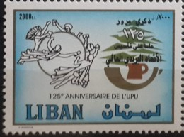Lebanon 2002 Mi. 1424 MNH Stamp - 125th Anniv Of The UPU - Lebanon