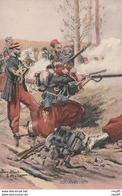 -CP- ZOUAVES -1870(voir Scan) - Autres Illustrateurs