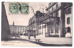 Divonne-les-Bains - Le Grand Hôtel - édit. Pittier 1765 + Verso - Divonne Les Bains