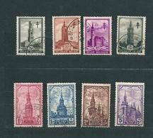 [2853] Zegels 519 - 526 Gestempeld - Used Stamps