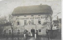 AK 0174  Restaurant Und Cafe Härtel - Motiv Ca. Um 1920 - Hotels & Restaurants