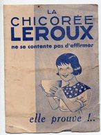 Orchies (59 Nord) Publicité CHICOREE LEROUX  (PPP17240) - Publicités