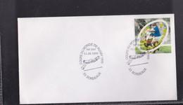 """Enveloppe 1er Jour  """"COUPE DU MONDE DE RUGBY """" 1er Septembre 1999 - Rugby"""