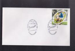 """Enveloppe 1er Jour  """"COUPE DU MONDE DE RUGBY """" 11 Septembre 1999 ,  Obliteration De 93 SAINT DENIS - Rugby"""