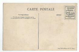 CPA Sports Joute A La Lance Publicité  Chicorée A La Bergere Emile Bonzel Haubourdin - Cartes Postales