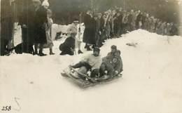 COURSE DE LUGE . DESCENTE A QUATRE - Winter Sports