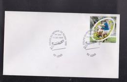 """Enveloppe 1er Jour  """"COUPE DU MONDE DE RUGBY """" 11 Septembre 1999 ,  Obliteration De 62 LENS - Rugby"""
