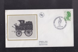 Enveloppe INAUGURATION  Du Bureau De Poste De LA FERTE GAUCHER  77 - Autres Collections