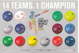 2015 New Zealand Cricket Souvenir Sheet MNH @ 80% FACE VALUE - Cricket