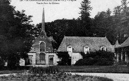 La Chapelle - Boixic (35) - L'église Vue Du Parc Du Château. - Autres Communes