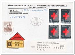 Oostenrijk  1965?, Registered Enveloppe With Remboursement - 1945-.... 2de Republiek