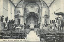 Menin Intérieur De L'église St Francois  (350) - Menen