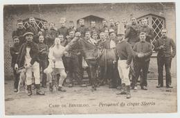 CAMP DE BEVERLOO - Personnel Du Cirque Steerin - Kasernen