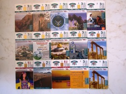 LOT   CARDS    CERTAINES SANS ET PUCES   SANS NUMEROS  JORDANIA   ARMENIA  ROUMANIA  BULGARIE BOSNIA SLOVENIA - Télécartes