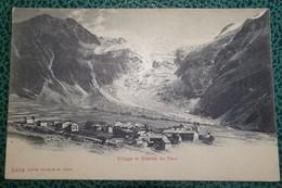 Cpa - Village Et Glacier Du Tour - Chamonix-Mont-Blanc