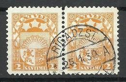 Latvia Lettland 1931 Michel 117 O Riga - Lettland