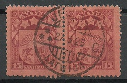 Latvia Lettland 1925 Michel 104 O JELGAVA - Lettland