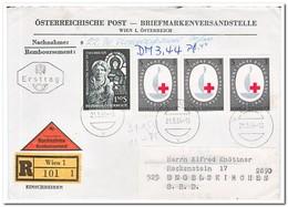 Oostenrijk 1964, Registered Letter With Remboursement - 1945-.... 2de Republiek