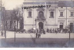 CPA PHOTO - POLOGNE - TESCHEN -CIESZYN - MILITARIA - Départ D'un Cerceuil Attelage à Cheval 1920 Conflit POLOGNE TCHECOS - Pologne