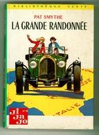 "Bibliothèque Verte N°356 - Pat Smythe - Série ""Ji-Ja-Jo""  - ""La Grande Randonnée"" - 1968 - Bibliotheque Verte"