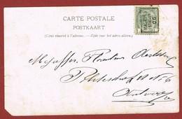 Postkaart Preo Malines Station 06 - Precancels
