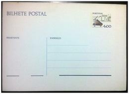 PORTOGALLO - Cartolina Postale - Ordinaria Strumenti  4$00  Nuova** - Entiers Postaux
