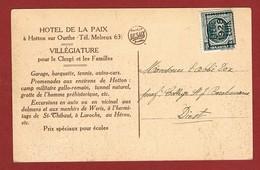 Postkaart Preo Liège Luik 1928 5 C Houyoux - Roller Precancels 1920-29