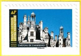 T.-P. Neuf** à Validité Permanente (Lettre Prioritaire 20 G) - Château De Chambord - Adhésif Entreprise - France 2019 - France