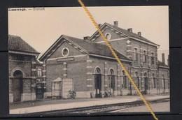 REPRODUCTION  LISSEWEGE WEST VLAANDEREN  STATION - Zeebrugge