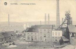 Auvelais - Charbonnage St-Roch - Ed: G. Hermans - Circulé - 2 Scans. - Sambreville