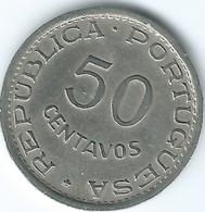 Angola - Portuguese - 50 Centavos - 1950 - KM72 - Angola