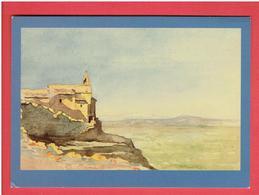 CAVAILLON 1896 CHAPELLE ET ERMITAGE SUR LA COLLINE SAINT JACQUES CARTE EN BON ETAT DESSIN DE JOUVE - Cavaillon