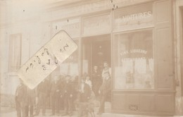 LEVALLOIS-PERRET - Commerce De Vins ( Carte-photo ) - Levallois Perret