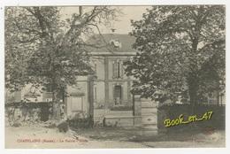 {76871} 51 Marne Chapelaine , La Mairie , Ecole ; Animée - Sonstige Gemeinden
