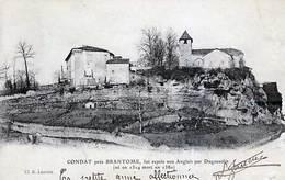24 - CONDAT Près Brantome , Fut Repris Aux Anglais Par Duguesclin - Trés Ancienne - Frankrijk