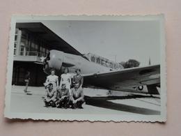 Lotje Vliegtuigen / Airplane / Avion ( 3 Foto's ) Formaat Grootste +/- 7 X 10 Cm. ! - Aviación