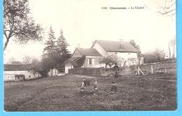Chevannes-Le Chalet (Guérigny-Nièvre)-1921-Cachet Cercle Pointillé De Bully-Chevannes-De Charolles Sur Timbre Taxe YT 29 - Guerigny