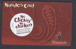Nando's Card - (magnetic Gift Card) USED - Gift Cards
