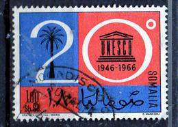 PIA - SOMALIA - 1966: 20° Anniversario Dell' UNESCO  - (Yv  61) - Somalie (1960-...)