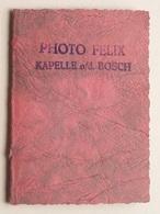 Pasfoto > Photo FELIX KAPELLE O/d BOSCH ( Formaat +/- 5 X 7 Cm. ) ! - Personnes Anonymes