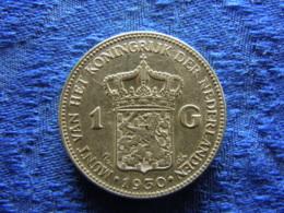 NETHERLANDS 1 GULDEN 1930, KM161.1 - [ 3] 1815-… : Royaume Des Pays-Bas