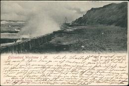 Ansichtskarte Ostseebad Wustrow (Fischland) Strand, Befestigung 1907 - Non Classificati