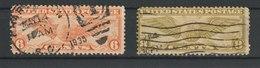 MiNr. 322, 323  USA  1930/1934. Pilotenabzeichen. - Vereinigte Staaten